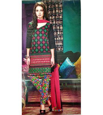 Raheja Kashmiri Patiyala Unstitched Dress Material