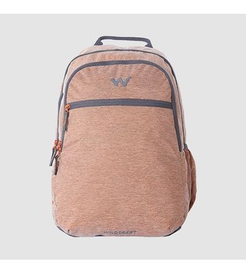 WILDCRAFT MELANGE 2 BACKPACK BAG - ORANGE