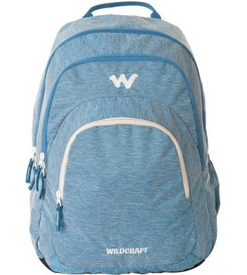 WILDCRAFT MELANGE 3 BACKPACK BAG - BLUE