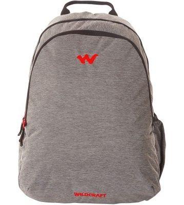WILDCRAFT MELANGE 1 BACKPACK BAG - BLACK