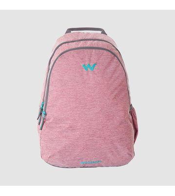 WILDCRAFT MELANGE 1 BACKPACK BAG - PINK