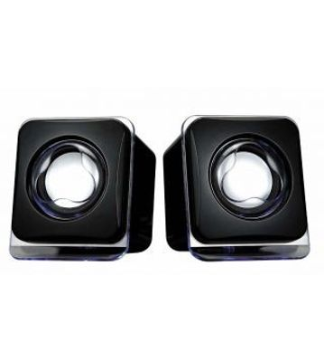 TeraByte Usb Mulitimedia Glass Speakers E-02B