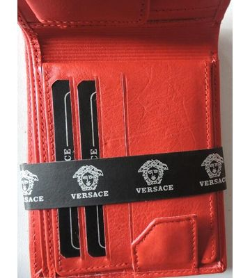 Versace leather stylish wallet