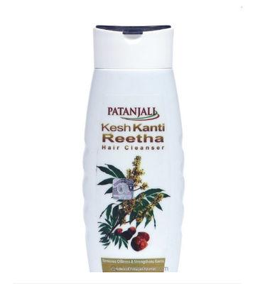 Patanjali Kesh Kanti Reetha Hair Cleanser - 200 ml (Pack of 2)