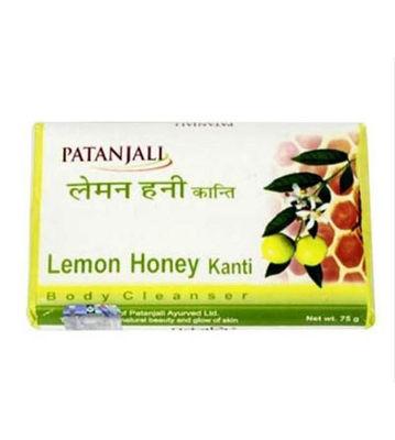 Patanjali Soap Lemon Honey Kanti Soap 75Gm (Pack of 10)