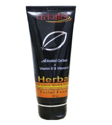 Patanjali Herbal Facial Foam - 60 gm