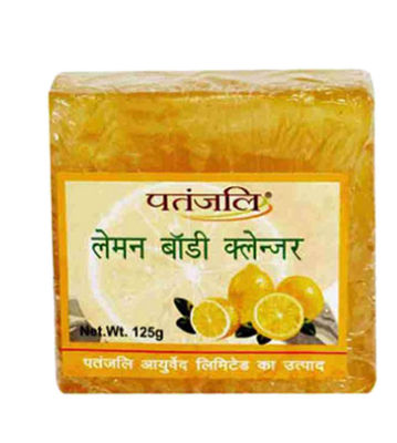 Patanjali Lemon Body Cleanser Soap - 125 gm