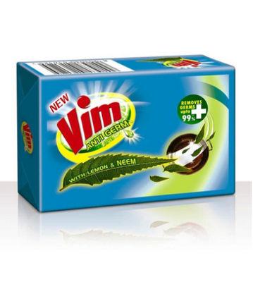Vim Antigerm Dishwash Bar, Lemon & Neem, 300 g