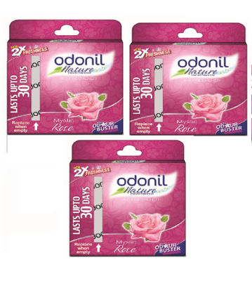 Odonil Block Rose 50g - Pack of 3