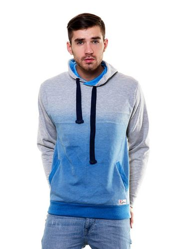 Ombre Print Sweatshirt with Hood