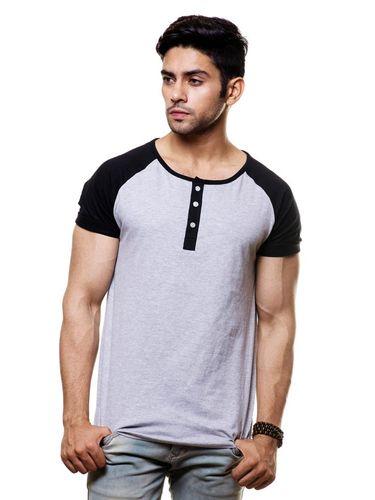 Raglan contrast Sleeve tshirt
