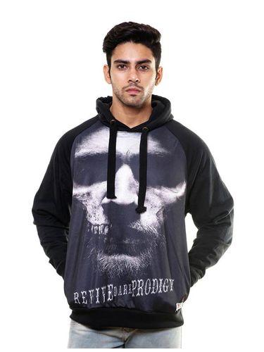 Digital Print sweatshirt with Hood