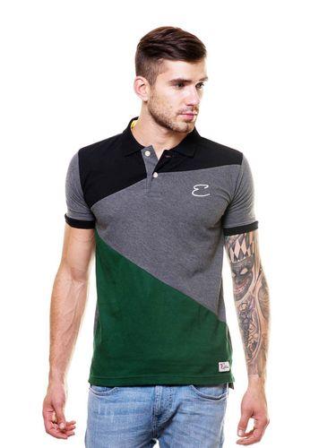Cut and Sew Polo Tshirt