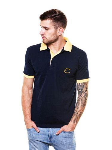 Contrast Collar  Polo Tshirt