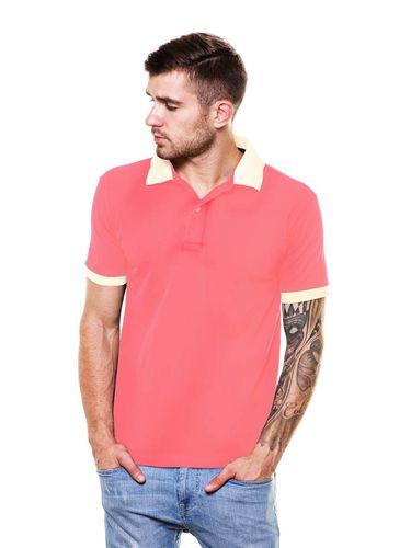 Contrast Collars  Polo Tshirt