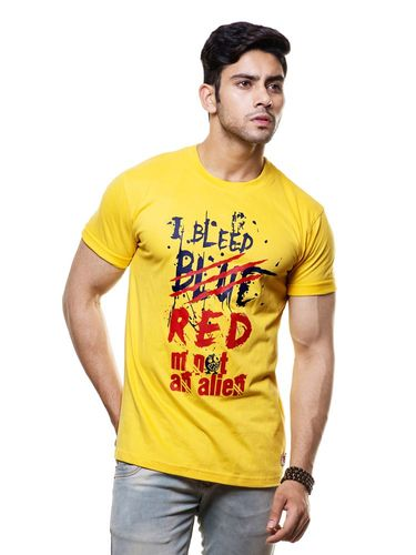 Bleed Blue Round Neck T Shirt