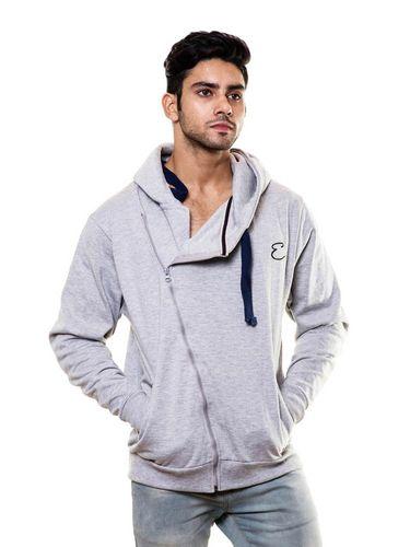 Side Zipper Sweatshirt with Hood