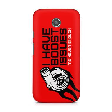 BOOST ISSUE - Motorola Moto E   Mobile Cover