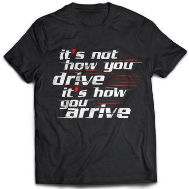 Drive - Black | Tshirt