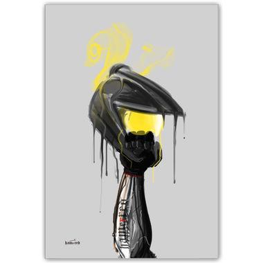 Helm Revolution | Artist: Hamerred49 | Poster