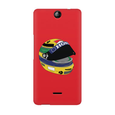 CHAMPIONS HELMET - Micromax Canvas Juice 3 Q392 | Mobile Cover