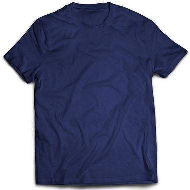 Classic Navy Blue Plain T-Shirt