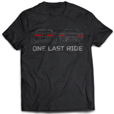 One Last Ride - Black   Tshirt