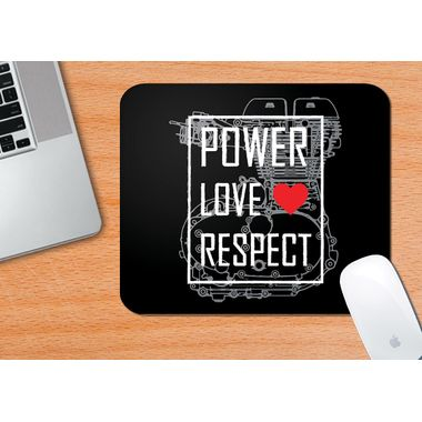 POWER LOVE RESPECT | Mouse Pad