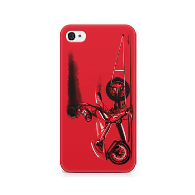 RED JET - Apple iPhone 4/4s | Mobile Cover