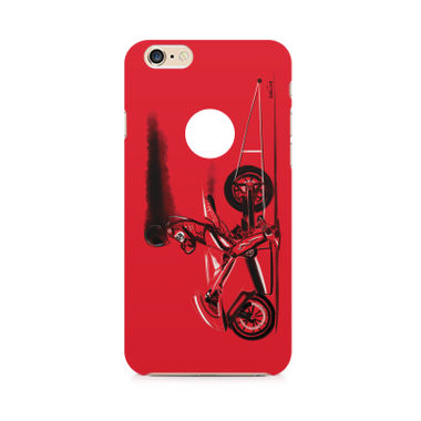 RED JET - Apple iPhone 6/6s with hole | Mobile Cover