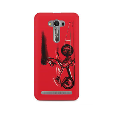 RED JET - Asus Zenfone Selfie | Mobile Cover