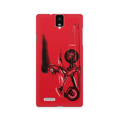RED JET - InFocus M330 | Mobile Cover