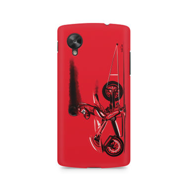 RED JET - LG Nexus 5 | Mobile Cover