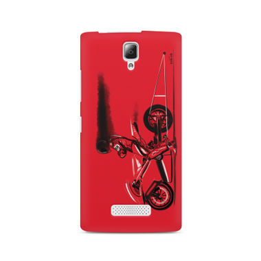 RED JET - Lenovo A2010 | Mobile Cover