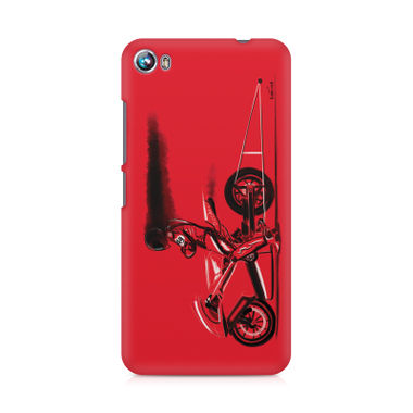 RED JET - Micromax Canvas Fire 4 A107 | Mobile Cover