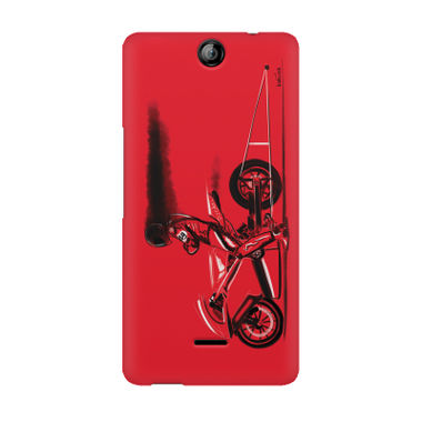 RED JET - Micromax Canvas Juice 3 Q392 | Mobile Cover