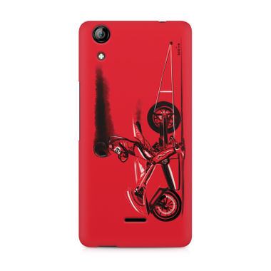 RED JET - Micromax Canvas Selfie 2 Q340 | Mobile Cover