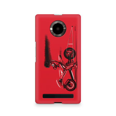 RED JET - Micromax YU Yuphoria | Mobile Cover