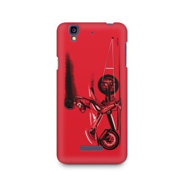 RED JET - Micromax YU Yureka A05510 | Mobile Cover