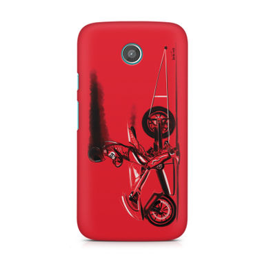 RED JET - Moto G | Mobile Cover