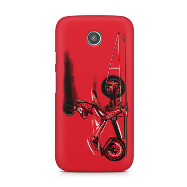 RED JET - Moto G2 | Mobile Cover