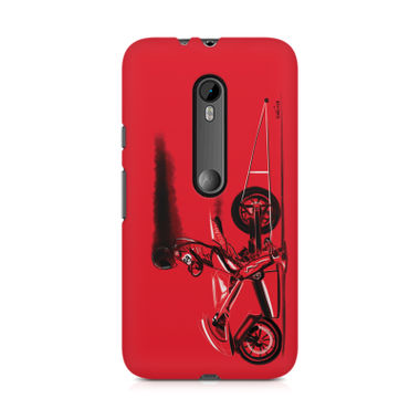 RED JET - Moto G3 | Mobile Cover
