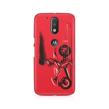 RED JET - Moto G4/G4 Plus | Mobile Cover