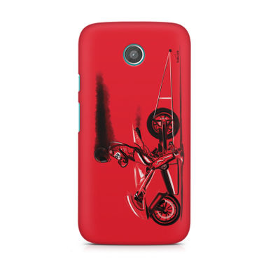 RED JET - Moto X | Mobile Cover