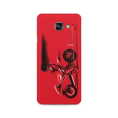 RED JET - Samsung A710 2016 Version | Mobile Cover