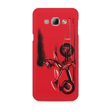 RED JET - Samsung A8 | Mobile Cover