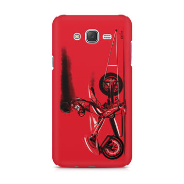 RED JET - Samsung J1 Ace | Mobile Cover
