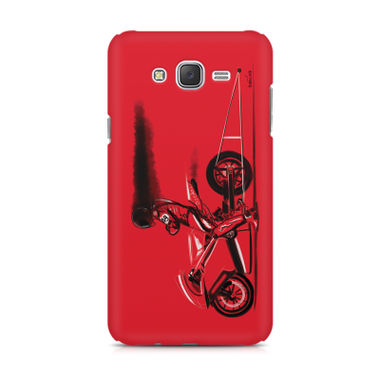 RED JET - Samsung J2 | Mobile Cover