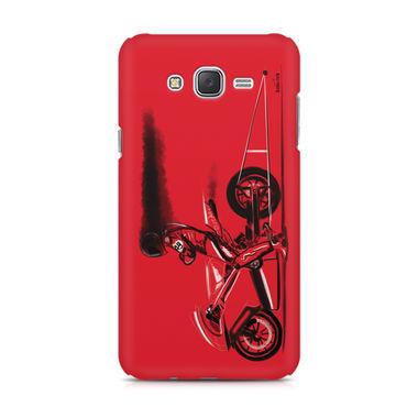 RED JET - Samsung J7 | Mobile Cover