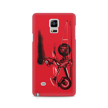 RED JET - Samsung Note 4 N9108 | Mobile Cover